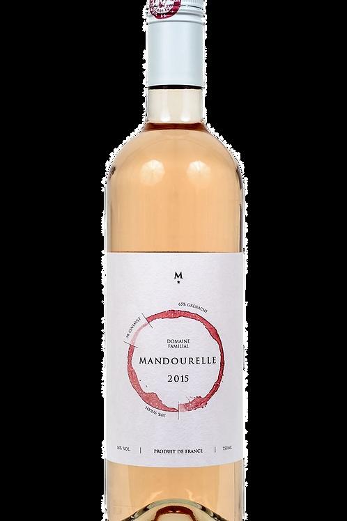 6 flessen Rosé Domaine Mandourelle