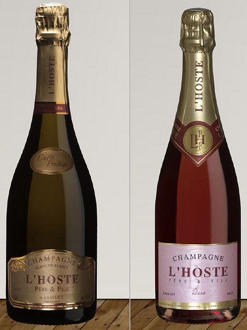 Kistje half&half 3 flessen Prestige + 3 flessen