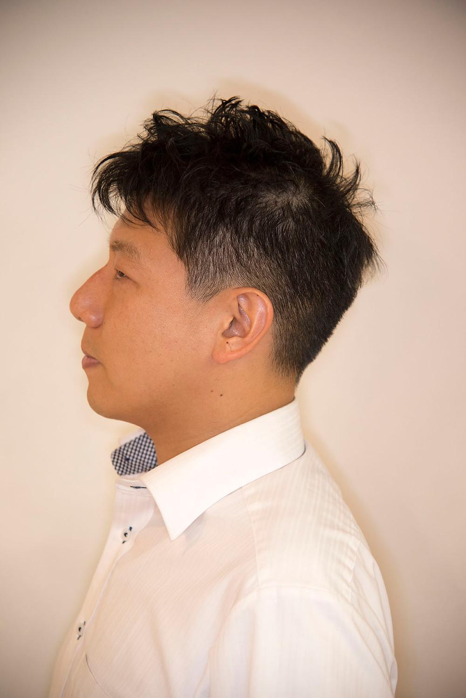 町田 美容室 ビジネスマン ヘアスタイル 2