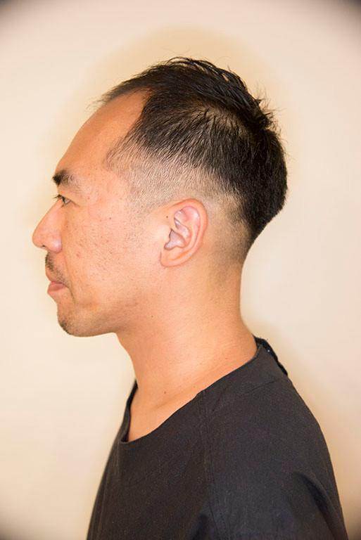 短髪 刈り上げ サイド