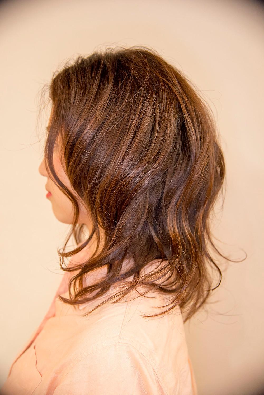巻き髪 サイド