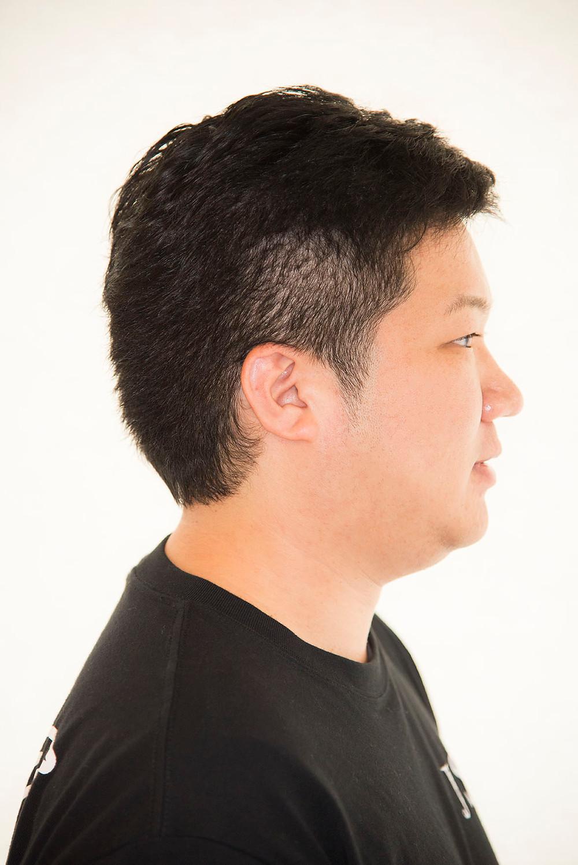 メンズクセ毛