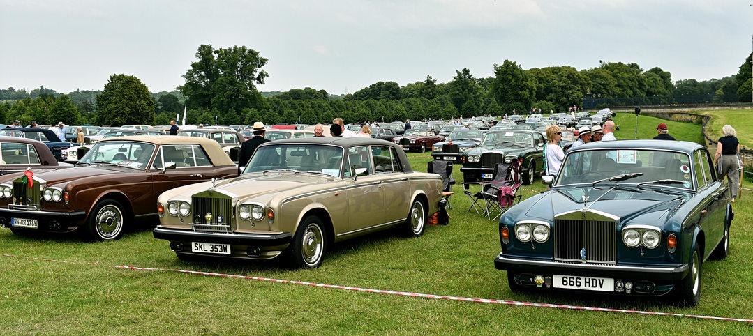 1978 Rolls-Royce Corniche dhc, 1981 Rolls-Royce Silver Shadow II, 1978 Rolls-Royce Silver Shadow II