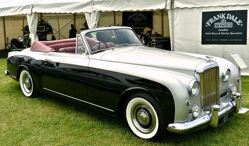 1955 Bentley S1 Continental dhc (adaptation)