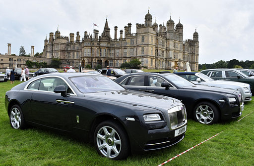 2014 Rolls-Royce Wraith and 2010 Rolls-Royce Ghost