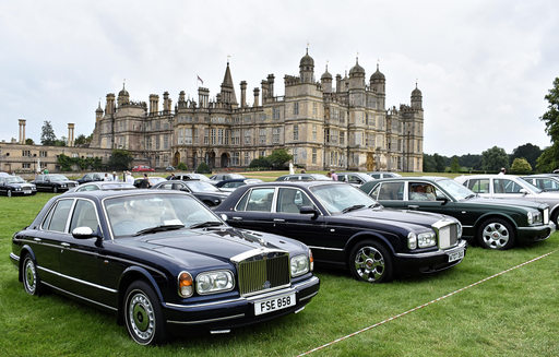 1999 Rolls-Royce Silver Seraph and 2000 Bentley Arnage Red Label