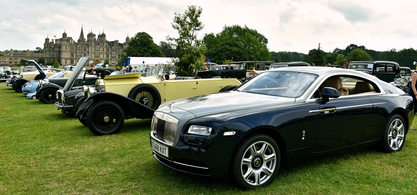 2016 Rolls-Royce Wraith in the Masters Class