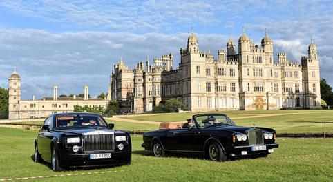 2007 Rolls-Royce Phantom and Rolls-Royce Corniche III