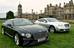 First and latest generation Bentley Continental GTs