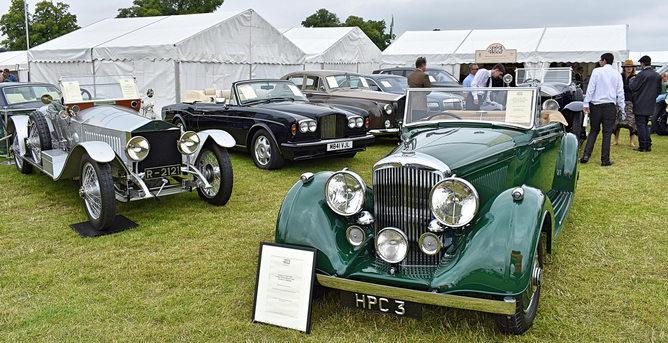 1912 Rolls-Royce Silver Ghost, 1938 Bentley 4¼ dhc by Vanden Plas