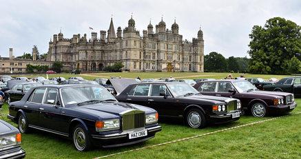 1995 Rolls-Royce Silver Spirit III, 1990 Bentley Turbo R, 1996 Bentley Brooklands