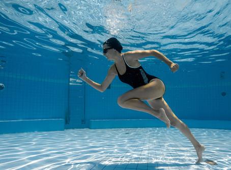 Courir dans l'eau, pourquoi ?