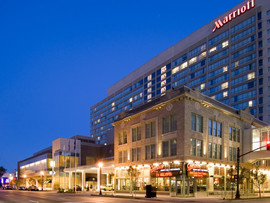 Two Nights Performing at The Marriott Hotel in Downtown Louisville