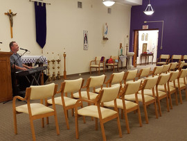 Performing To An Empty Room - Camera Allows Quarantined Seniors To Watch & Listen By Remote Moni