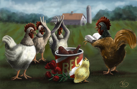 Funeral for Chickens