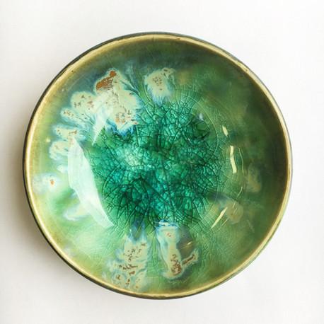 turquoise mini dish