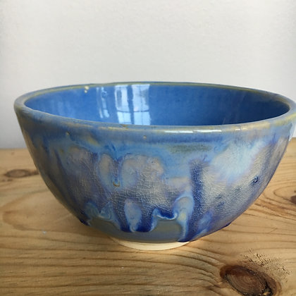 arctic blue cereal bowl