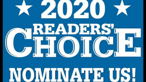 Providence Journal's 2020 Readers choice nominee!