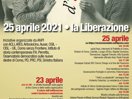 FESTA DELLA LIBERAZIONE  25 Aprile