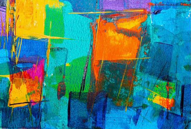 blue-and-orange-abstract-painting-193031