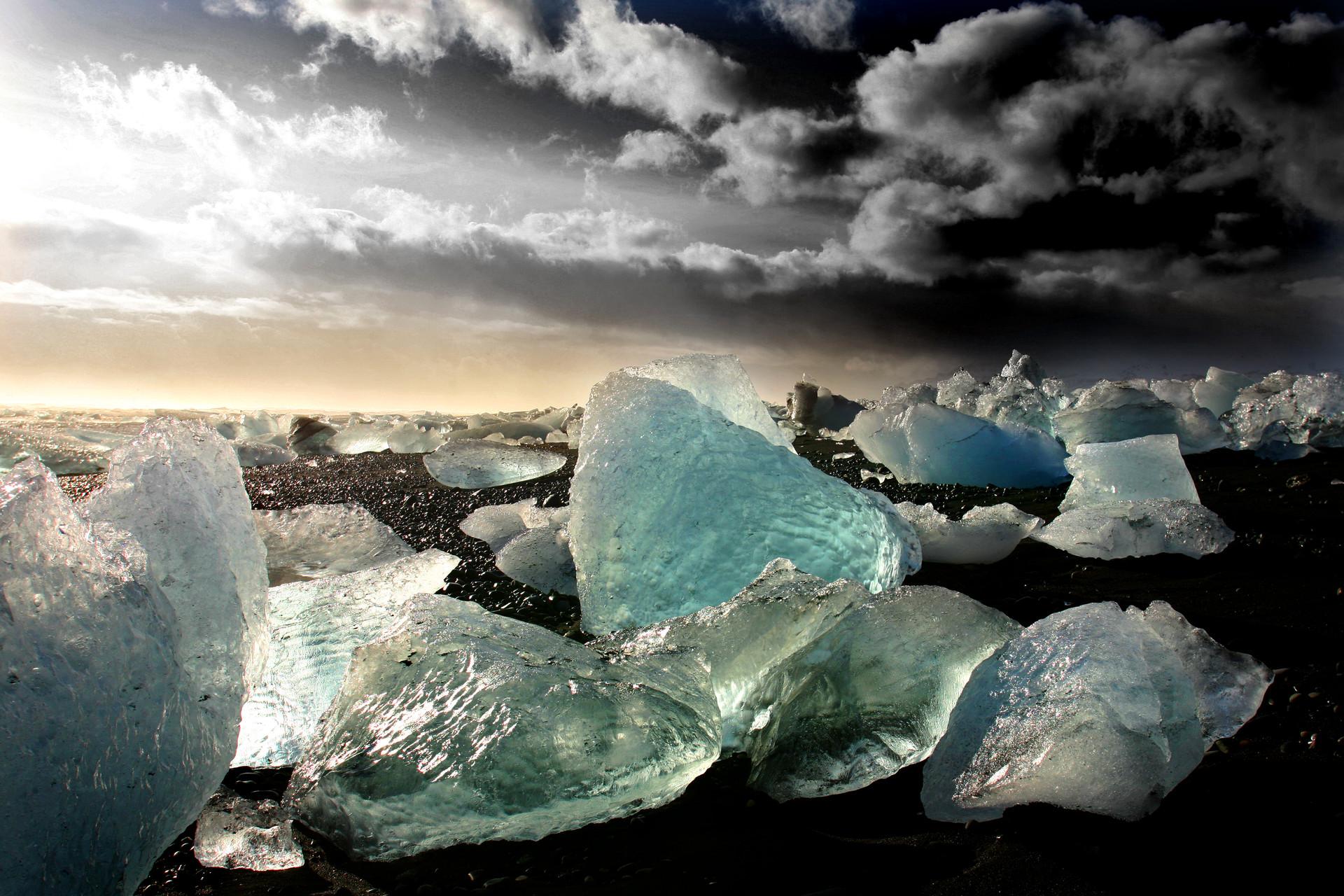 Islanda. Laguna di Jokulsarlon