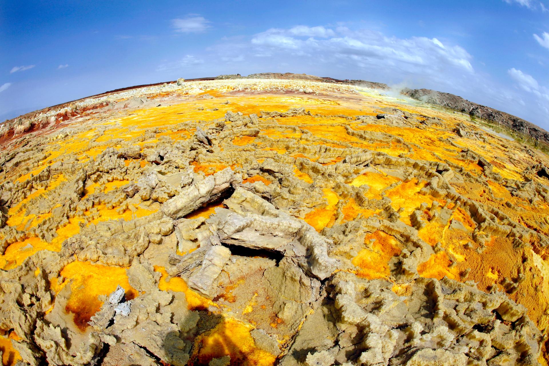 Etiopia. Dallol-Dancalia