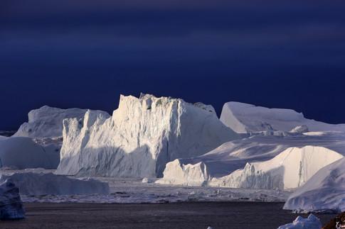 Winter in Groenlandia