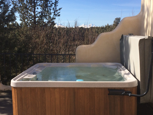 Hot tub on the roof.
