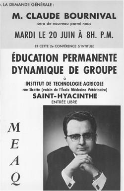 Claude Bournival 20 juin 1967