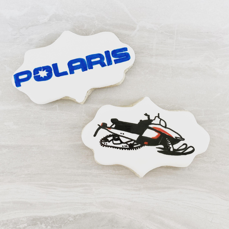 Polaris Snowmobile Cookies