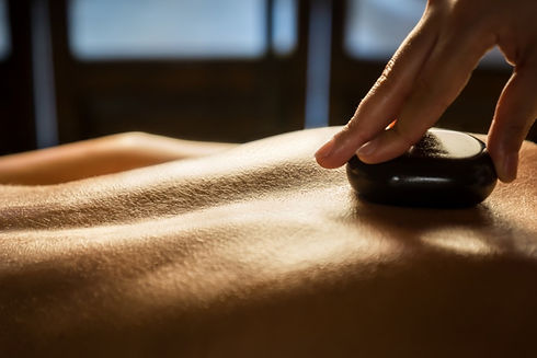 Luxury hot stone massage, Cambridge UK