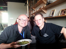 Lunch with Dave Weckl Beijing 2015