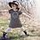 Thumbnail: Love Garland Print Striped Dress