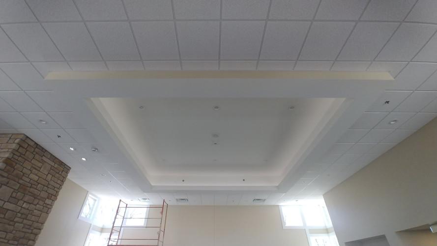 Interior at Pilgrim Manor in Grand Rapids, MI for Erhardt Construction.