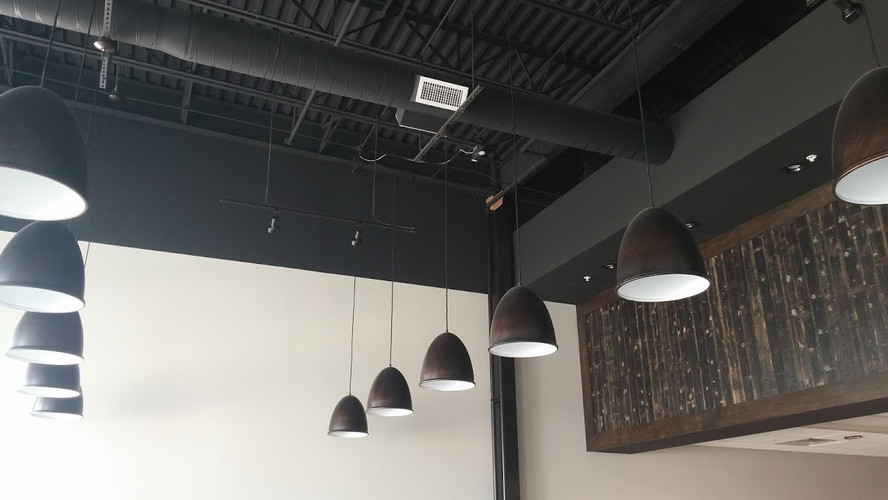 Interior commercial restaurant project in Grandville.