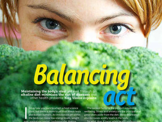 Balancing Act - Yoga Life Magazine