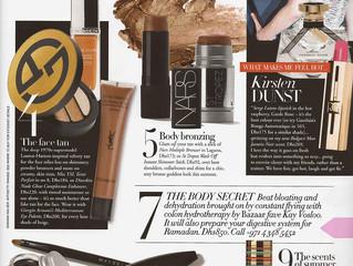 Harper's Bazaar mentions their favourite Colon Hydrotherapist!