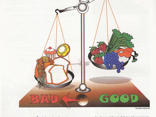 Healthy eating - getting the right balance