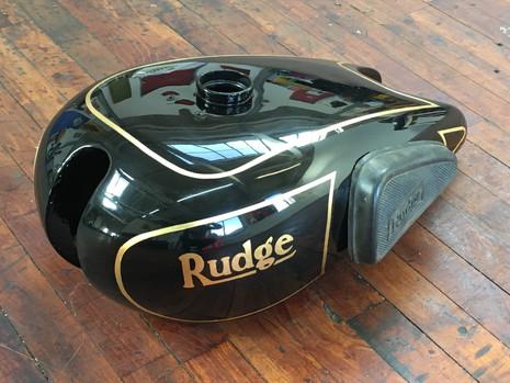 Rudge Motorcycle Petrol Tank.