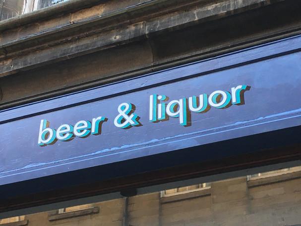 Arcade Beer & Liquor.