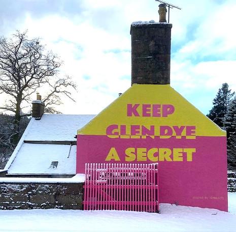 Keep Glen Dye a Secret.
