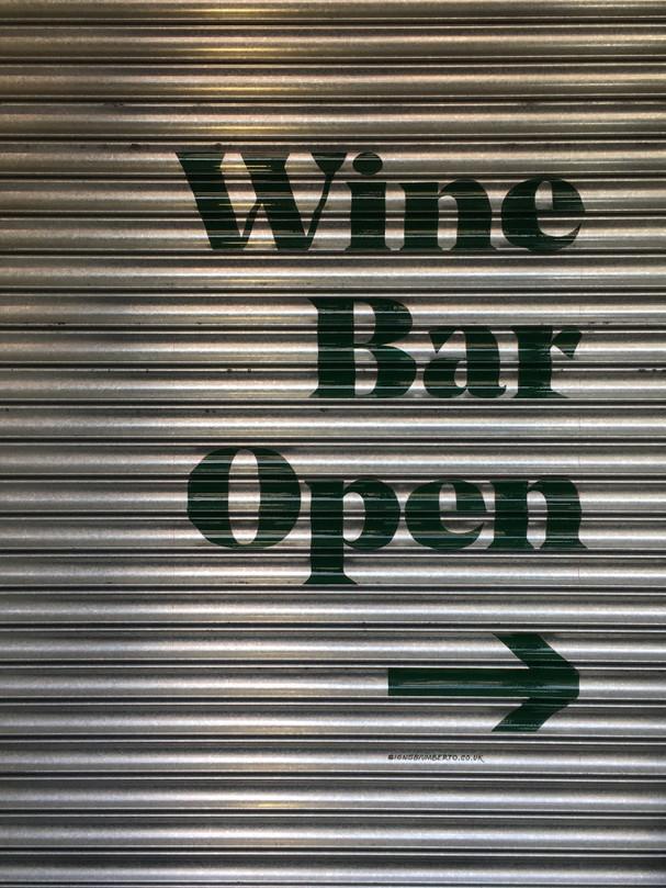 Hoults Wine Bar - Roller Shutter
