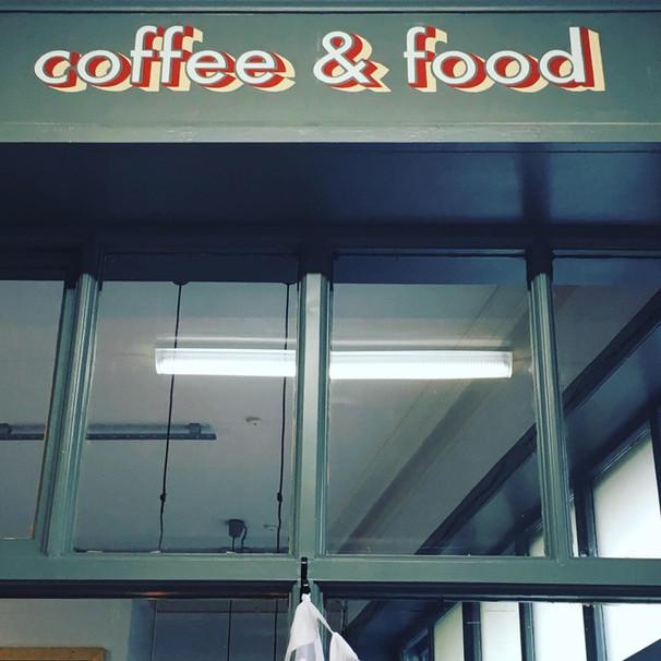 Arcade Coffee & Food.