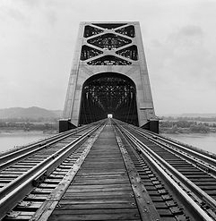 Sciotoville Bridge, Ohio River, Sciotovi