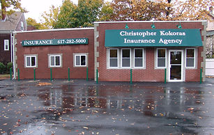 auto insurance agency building boston Christopher Kokoras Insurance