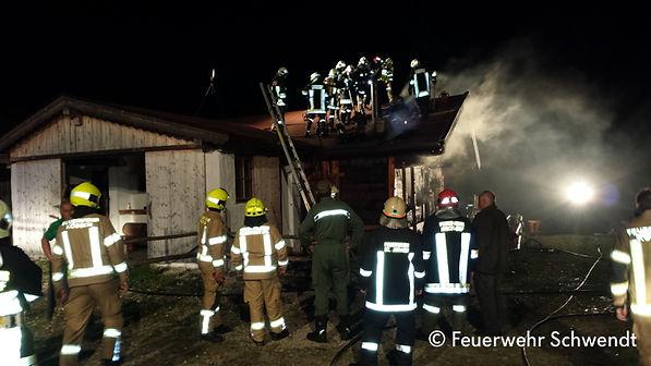 Brand Kohlalm Schwendt