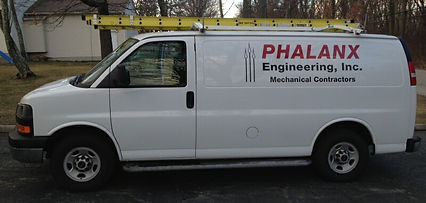 Phalanx Engineering Van