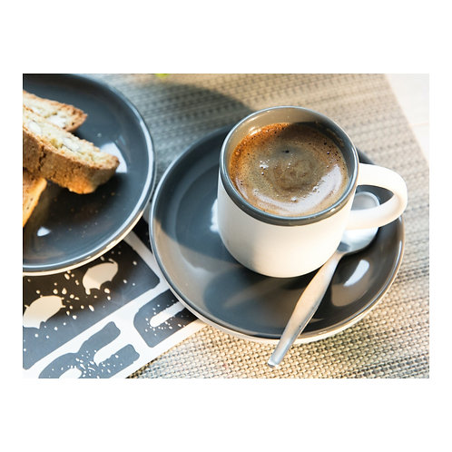 La Cafetiere Barcelona Espresso Cup & Saucer