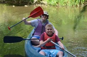 Canoe, river, gites, France