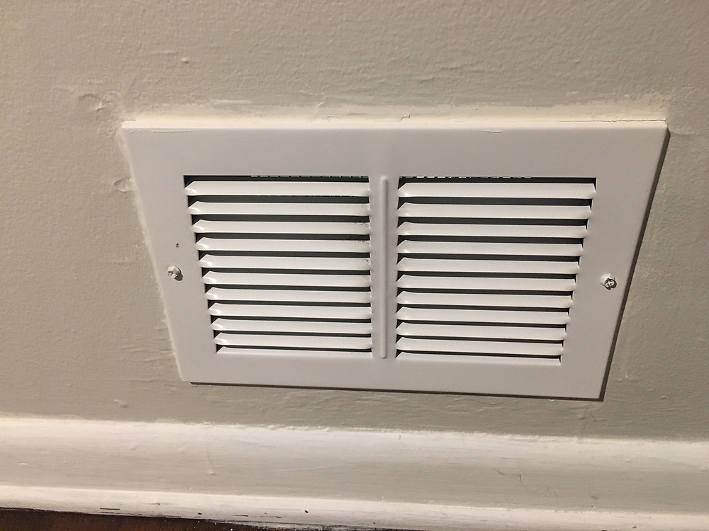 Cleaning vents